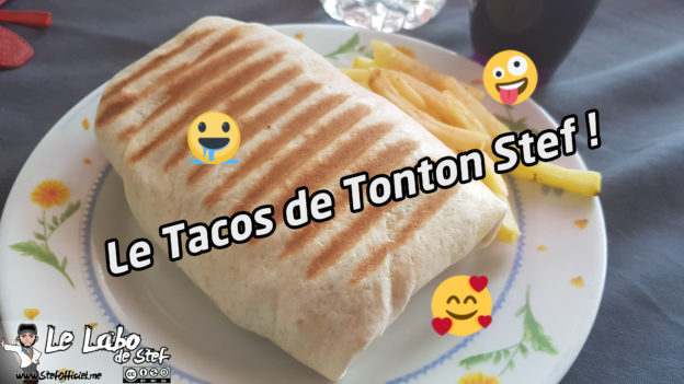 recette le tacos de tonton stef sans sauce. Black Bedroom Furniture Sets. Home Design Ideas